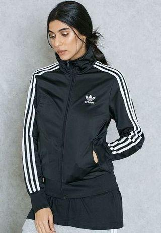 Adidas Originals 三葉草立領 運動外套 黑色