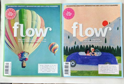 2 Flow magazines issues 24 and 15