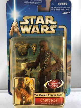 Hasbro - Star Wars -Chewbacca with C-3PO- 星戰玩具 2002之收藏品(罕有)