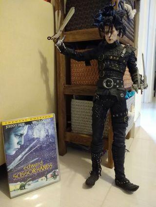 幻海奇緣 Johnny depp *電動版*人偶48cm高 連DVD