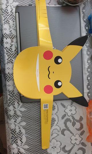 Pokemon Pikachu foldable paper cap