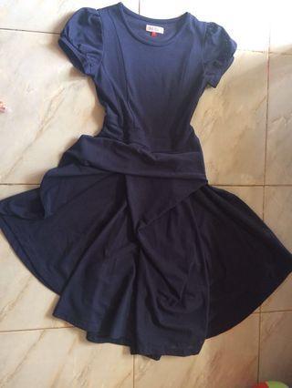 Navy uniq dress