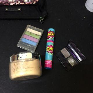 Make up set (Loose powder, mascara, eye shadow & eyebrows)