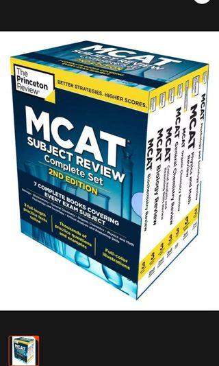 MCAT Subject Review