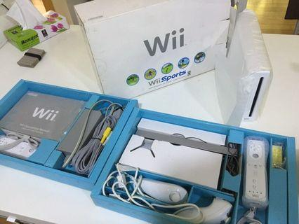 Wii nintendo Console complete