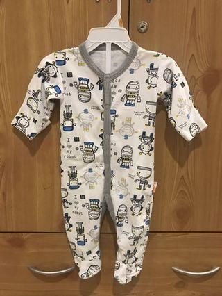 VELVET JUNIOR Baby Sleepsuit
