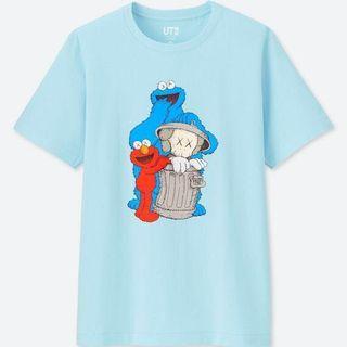 Sesame Street Kaws T-shirt