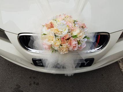 Bridal Car Flower Decor for Sale