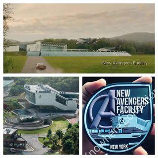 Marvel Avengers Endgame New Avengers Facility Custom Morale Patch #endgameyourexcess