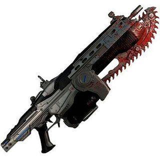 Neca Gears of War Lancer rifle Prop replica #endgameyourexcess