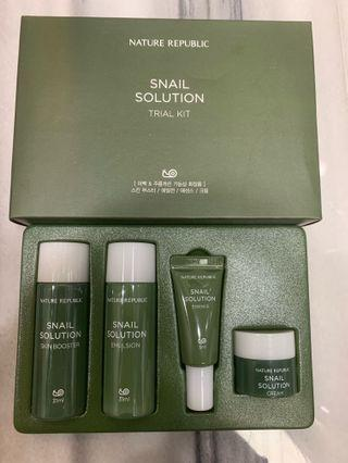 Nature Republic - Snail Solution Trial Kit