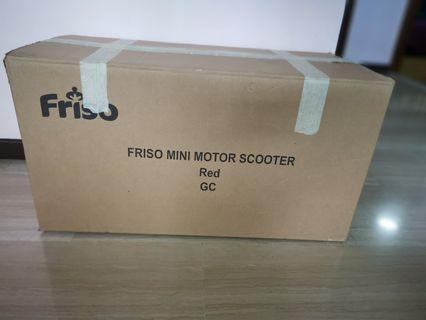 🚚 Friso Mini Motor Scooter (Red)