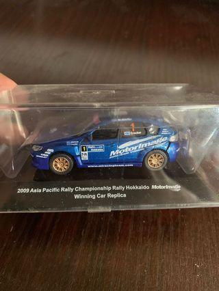 2009年 Subaru 比賽 非賣品