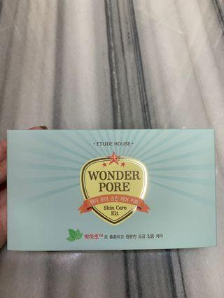 Etude House - Wonder Pore Skin Care Kit