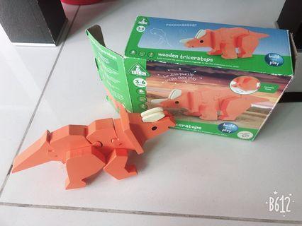 ELC Wooden Triceratops