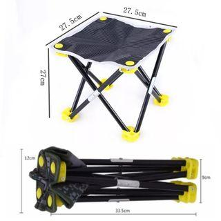 [NEW] Foldable Stool Mini Outdoor Camping Chair