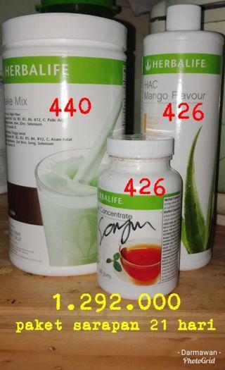 Herbalife paket diet hemat dan lengkap