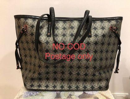 DKNY TOTE BAG WITH ZIP