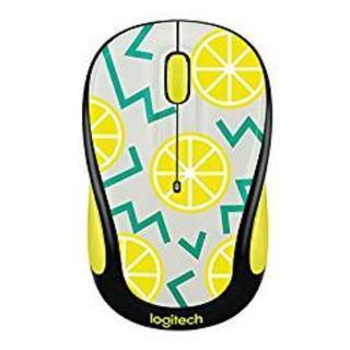Logitech M317c (M317) optical wireless mouse - Lemon