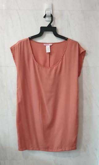 Supre Oversized Dress in Coral