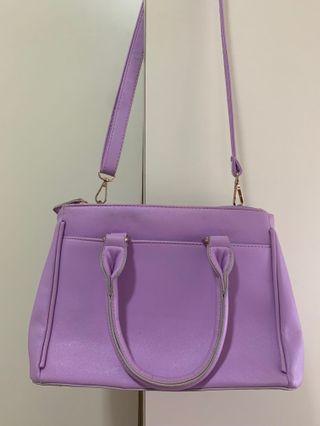 粉紫色手袋