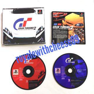 Playstation Gran Turismo 2 Two Disc NTSC J