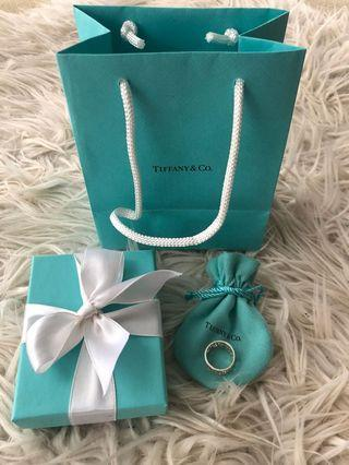 100% AUTHENTIC TIFFANY & CO ENCHANT WIDE RING