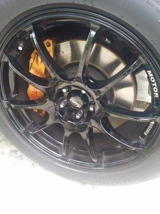 18 inch rims for sale or swap 1 to 1 with 17 inch rims