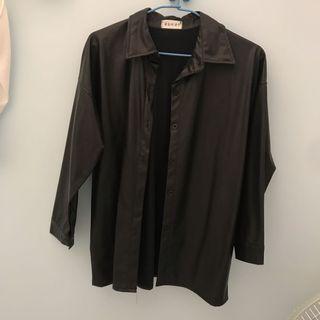 二手-皮製襯衫