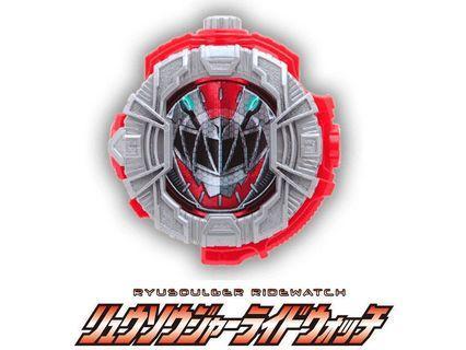 Kamen Rider zi-o Ryusoulger ridewatch