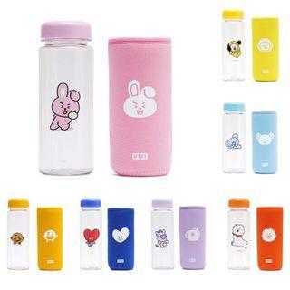 BTS BT21 Official Drinking Tumbler Water Bottle