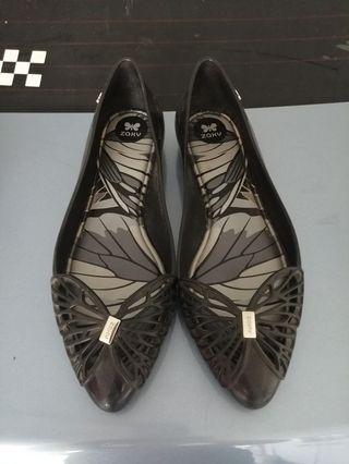 Zaxy Black Shoes US 10