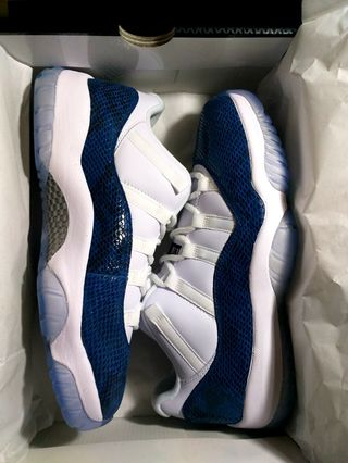 separation shoes d6279 7c6c5 Jordan 11 Low Snakeskin size 10.5 (not kobe lebron pg harden dame kyrie kd  ultraboost