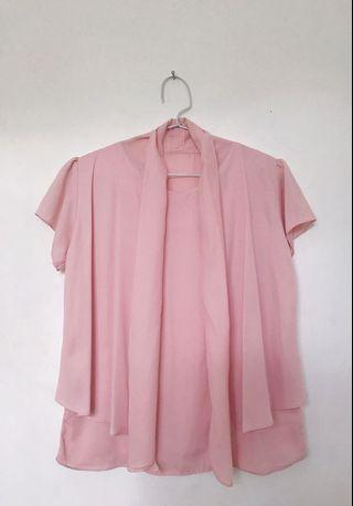 Pink Blouse / Top