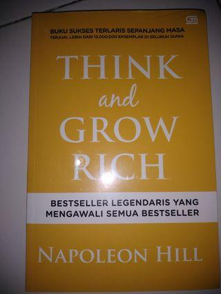 Buku Think and Grow Rich Napoleon Hill