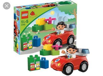 Lego Duplo Cars Toys Games Carousell Singapore