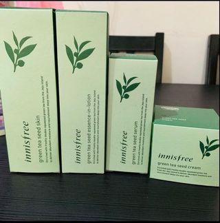 INSTOCK Innisfree Green Tea Seed Skin Care Product Set #ENDGAMEyourEXCESS