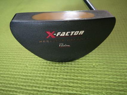 Great bargain: Proline X-Factor golf putter