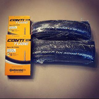 Continental GP4000S II 25C Clincher Tires