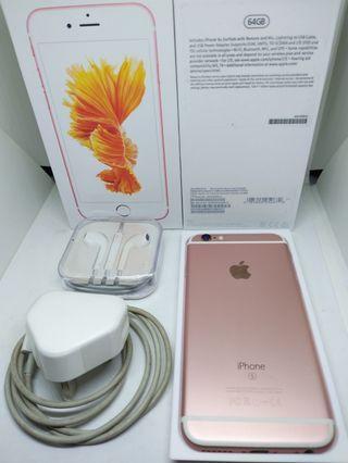 Apple iPhone 6s 64Gb Rose Gold Fullset Surabaya