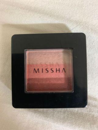 missha 三色眼影 紅棕色系6號#半價美妝拍賣會