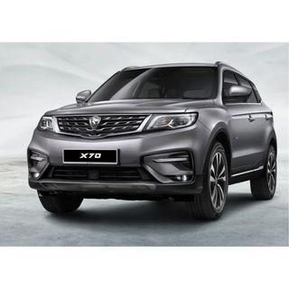[2019 NEW YEAR PROMOTION} VVIP PACKAGE PROTON X70 with 5 Years Warranty