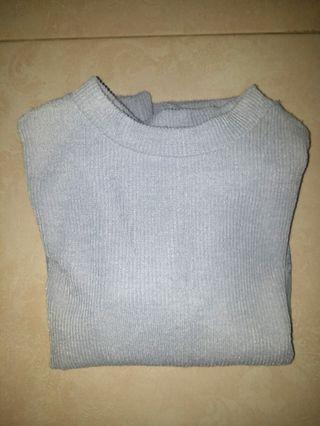 OLIVE des OLIVE Grey Sweater