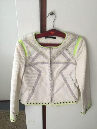 🚚 Karen Millen Embroidered Cropped Jacket #EndgamYourExcess