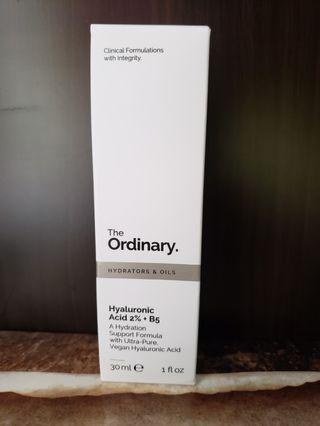 The Ordinary Hyaluronic Acid 2% + B5 透明質酸高效補水精華 30ml