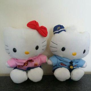 Hello Kitty stuffed toy collectables