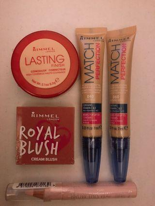 Assorted make up brand new