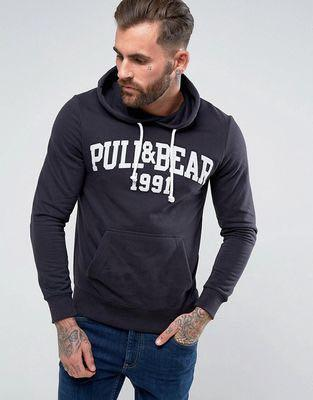 🚚 Pull and Bear Logo hoodie