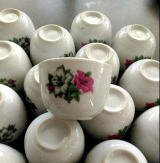 (Each) Kangkung Flower Kung Fu Tea Cup