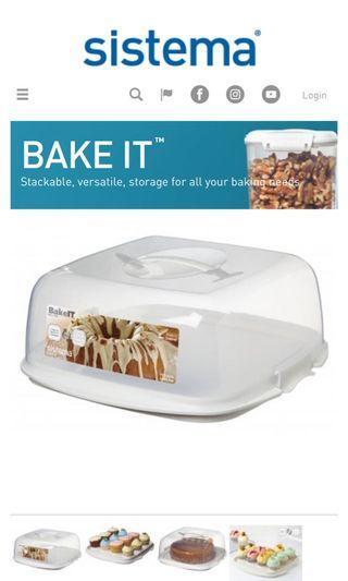 Sistema Bake It Cake Box (8.8L)